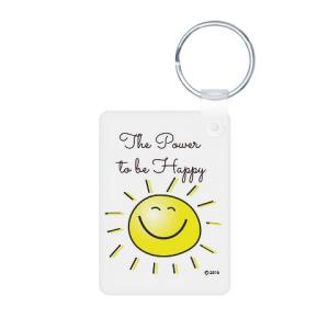 the_power_to_be_happy_keychains