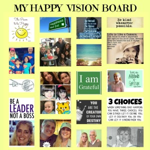 Happy Vision Board